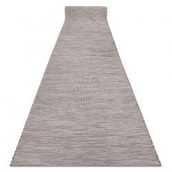Flat woven Runner SIZAL PATIO uniform design 2778 beige