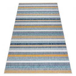 Carpet SISAL COOPER Stripes, Etno 22238 ecru / navy