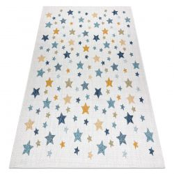 Carpet SISAL COOPER Stars 22260 ecru / navy