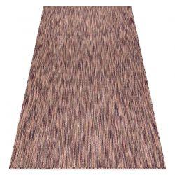 Modern carpet SISAL FISY 20975A purple / pink