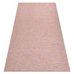 Carpet SISAL PATIO 2778 Flat woven pink / blue / beige