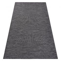 Carpet SISAL PATIO 2778 Flat woven black / beige