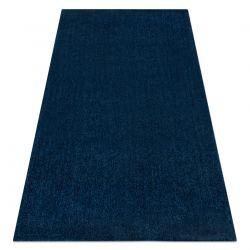 Modern washing carpet LATIO 71351090 dark blue