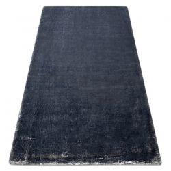 Modern washing carpet LAPIN shaggy, anti-slip ivory / black