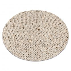 Carpet, round CASABLANCA cream