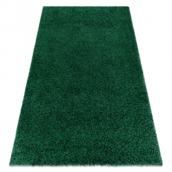 Carpet SOFFI shaggy 5cm bottle green