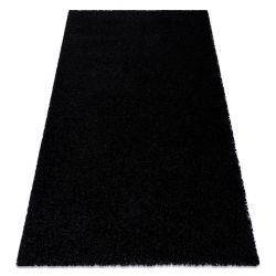 Carpet SOFFI shaggy 5cm black