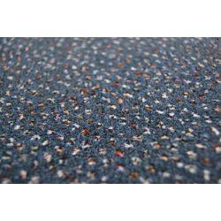 Fitted carpet VELOUR TECHNO STAR 390 blue