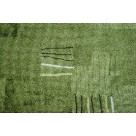 Fitted carpet VIVA 227 green