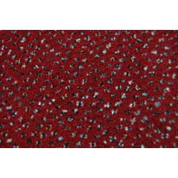 Fitted carpet VELOUR TECHNO STAR 170 claret