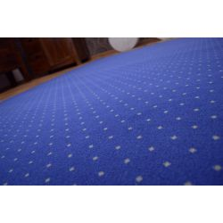 Fitted carpet AKTUA 178 blue
