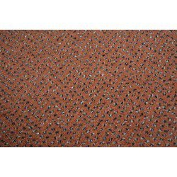 Fitted carpet VELOUR TECHNO STAR 140 terracotta