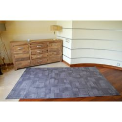 Fitted carpet KARAT 900 gray