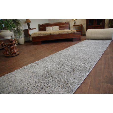 Fitted carpet SHAGGY 5cm grey