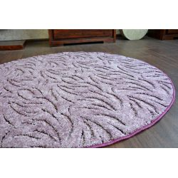 Carpet round IVANO purple