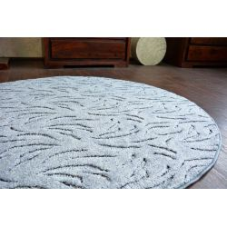 Carpet round IVANO grey