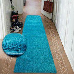 Runner SHAGGY 5cm turquoise