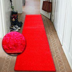 Runner SHAGGY 5cm red