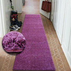 Runner SHAGGY 5cm purple