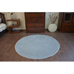 Carpet, round DELIGHT grey