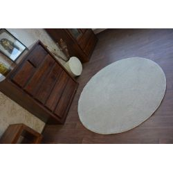 Carpet, round DELIGHT silver