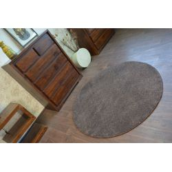 Carpet, round PHOENIX brown