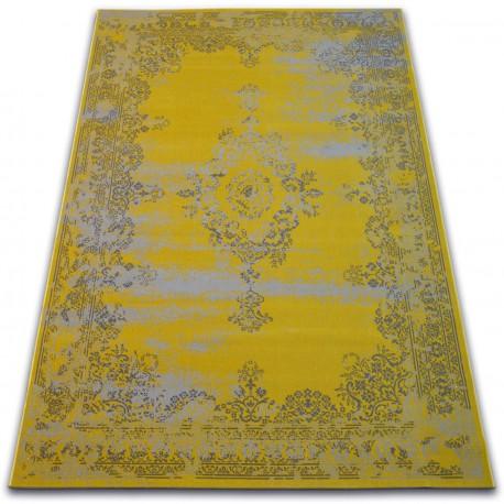 Carpet VINTAGE Rosette 22206/025 yellow