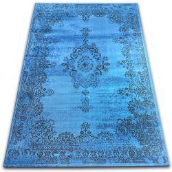 Carpet VINTAGE Rosette 22206/043 blue