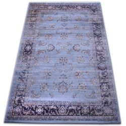 Carpet heat-set Jasmin 8628 blue