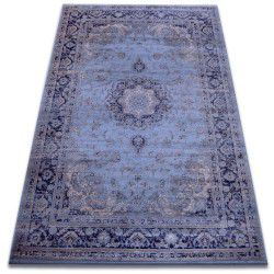 Carpet heat-set Jasmin 8676 blue