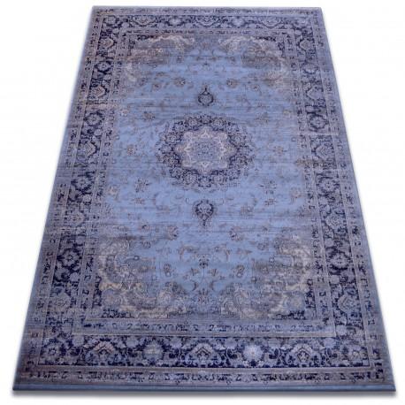 Carpet heat-set Jasmin 8676 blue