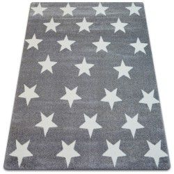Carpet SKETCH - FA68 grey/white - Stars