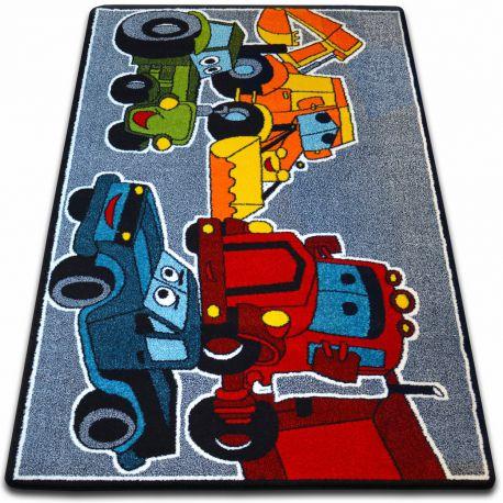 Carpet KIDS Cars grey C418