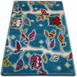 Carpet KIDS Forest blue C427