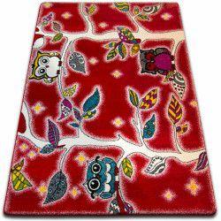 Carpet KIDS Forest red C427