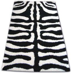 Carpet SHAGGY ZENA 3964 white / black