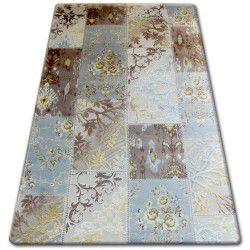 Carpet Shaggy SPACE 3D B314 d.brown