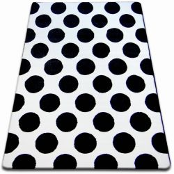Carpet SKETCH - F761 white/black - circle