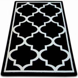 Carpet SKETCH - F730 black/white trellis