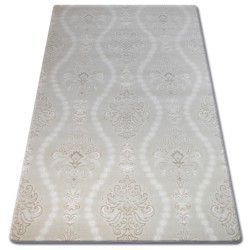 Carpet ACRYLIC FLORYA 0281 Cream/White