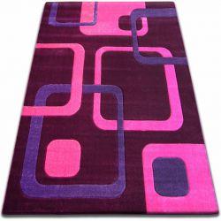 Carpet FOCUS - F240 violet SQUARES