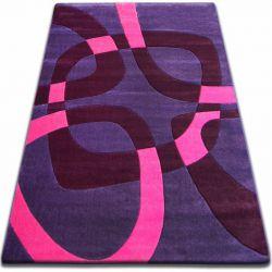 Carpet FOCUS - F242 violet SQUARE