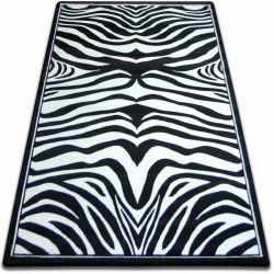 Carpet FOCUS - 9032 ZEBRA black and white