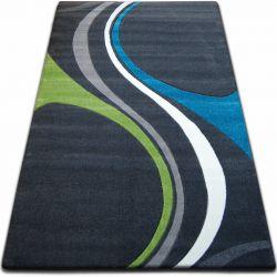 Carpet FOCUS - F460 turquoise gray green