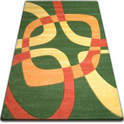 Carpet FOCUS - F242 green SQUARE