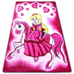 Carpet children HAPPY C187 pink Princess