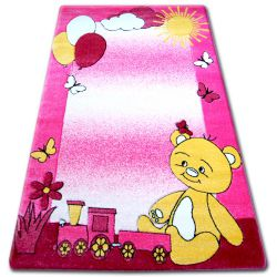 Carpet children HAPPY C210 pink Teddy Bear