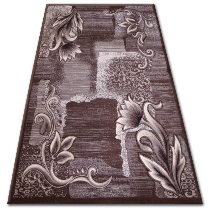 Carpet Heat Set Kiwi 7907 Brown Carpets