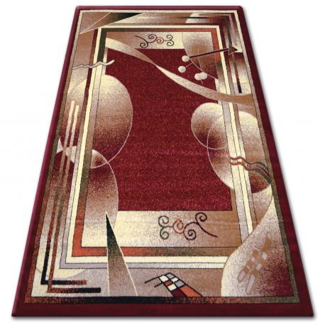 Carpet heat-set PRIMO 5741 claret