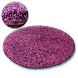 Carpet circle SHAGGY GALAXY 9000 violet
